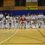 Tekmovalci DBV IPPON z Božičkom in trenerji stopajo v 20 leto delovanja.